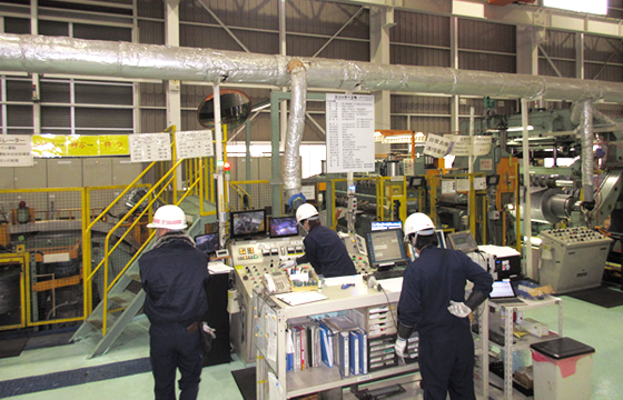 写真:工場内の様子